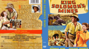 King Solomon's Mines (1950) dvd cover