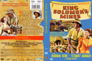 King Solomon's Mines (1950) dvd cover