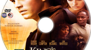 King's Faith dvd label