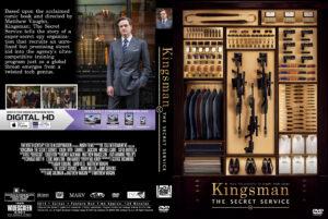 Kingsman: The Secret Service dvd cover