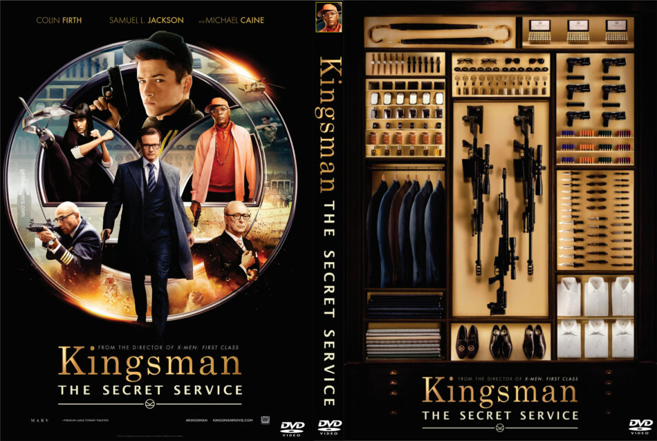 Kingsman The Secret Service Dvd Cover 2015 Custom Art