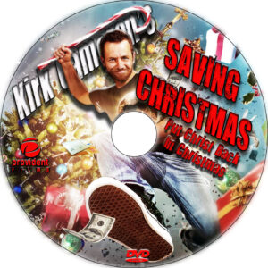 Saving Christmas dvd label
