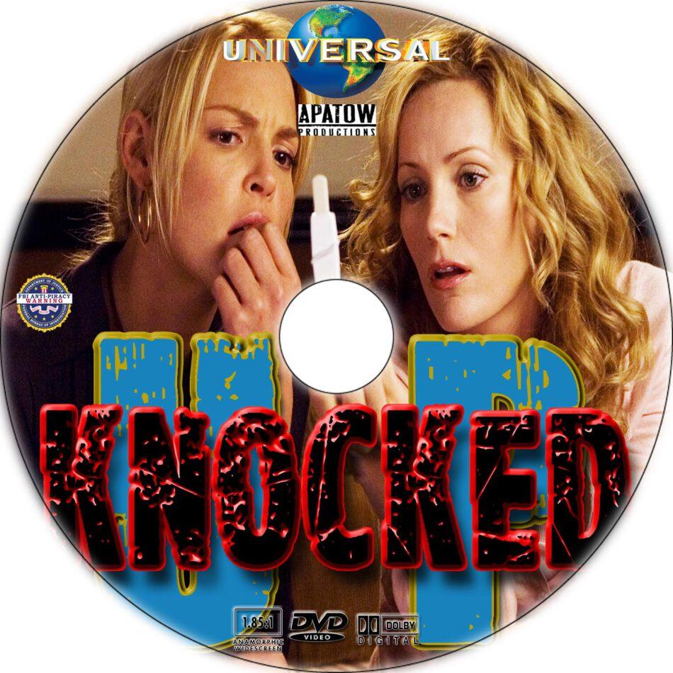 Knocked Up dvd label