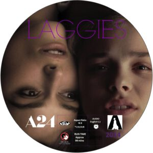 LAGGIES dvd label
