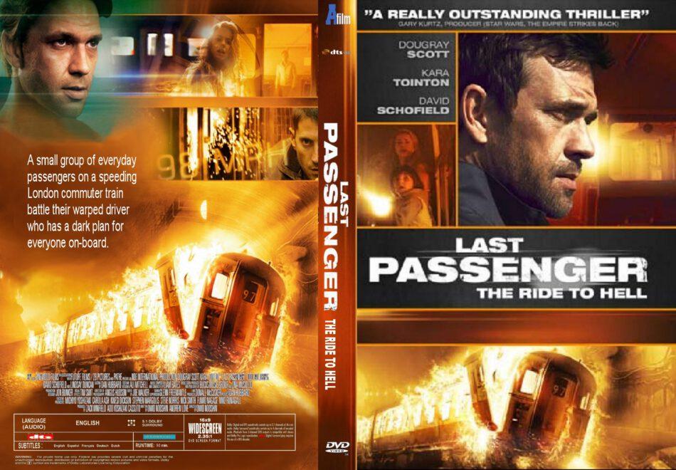 Last Passenger dvd cover