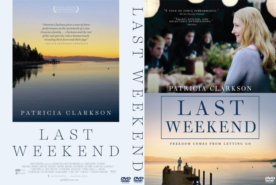 Last Weekend dvd cover