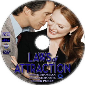 Laws of Attraction dvd label