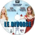 Le Divorce (2003) R1 Custom Label