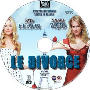 Le divorce dvd label