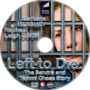 Left to Die dvd label
