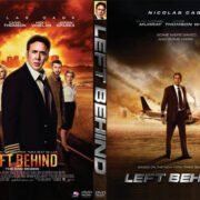 Left Behind (2014) Custom DVD Cover