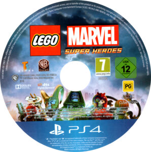 LEGO Marvel Super Heroes PAL CD Cover