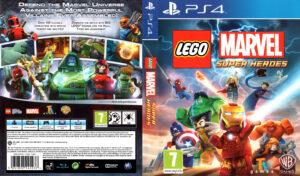 LEGO Marvel Super Heroes PAL Cover