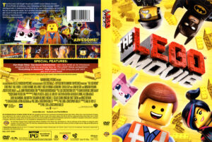 Lego Movie dvd cover