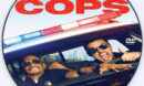 Let's Be Cops (2014) Custom DVD Label