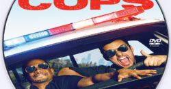 Let's Be Cops dvd label