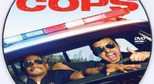 Let's Be Cops dvd label