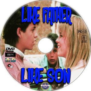 Like Father Like Son dvd label