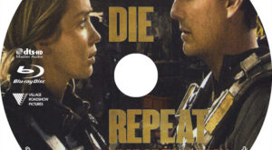 Live, Die, Repeat (Blu-ray) Label
