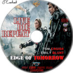 Live Die Repeat: Edge of Tomorrow (2014) R1 Custom Label