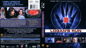 Logan's Run (Blu-ray) dvd cover