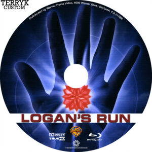 Logan's Run (Blu-ray) Label