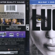 Lucy (2014) Blu-Ray DVD Cover & Label