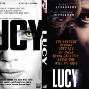 Lucy (2014) Custom DVD Cover