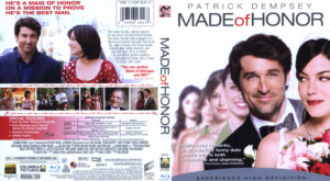 Made of Honor (Blu-ray) dvd cover