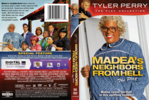 Tyler Perry's Madea's Neighbors From Hell dvd cover