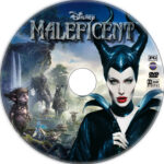 Maleficent (2014) R1 Custom DVD label