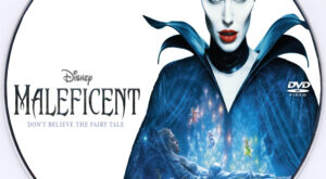 maleficent dvd label