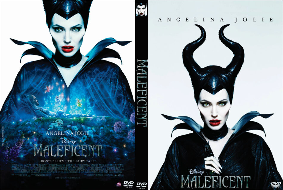 maleficent dvd cover