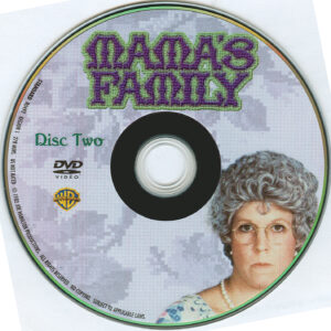 Mama's Family season 1 dvd label