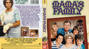 Mama's Family season 1 dvd cover