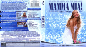 Mamma Mia (Blu-ray) dvd cover