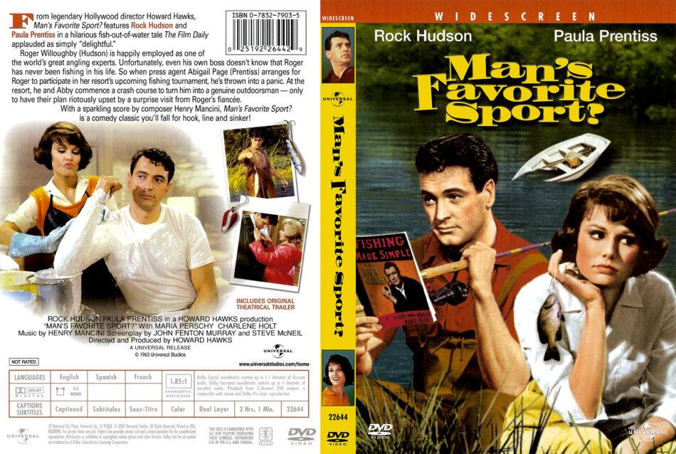 Man's Favorite Sport dvd cover