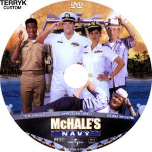 McHale's Navy dvd label