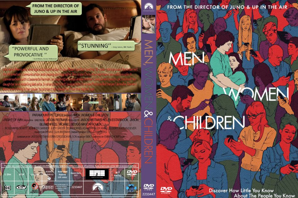 Men, Women & Children dvd cover