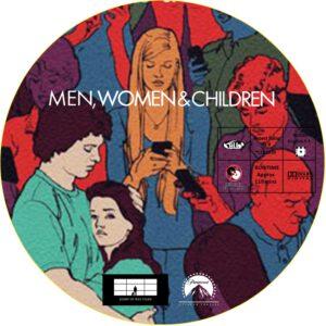 Men, Women & Children dvd label