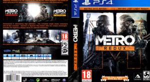Metro Redux dvd cover
