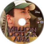 Million Dollar Arm (2014) R1 Custom Label