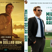 Million Dollar Arm (2014) Custom DVD Cover