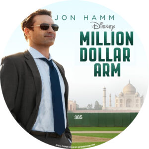 Million Dollar Arm dvd label