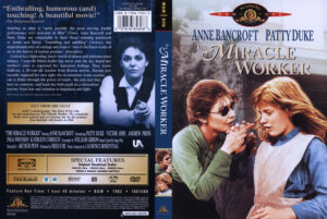 Miracle Worker, The dvd cover