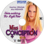 Miss Conception (2008) R1 Custom DVD Label