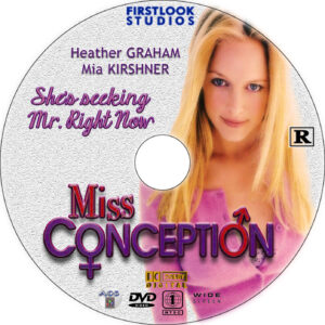 Miss Conception dvd label