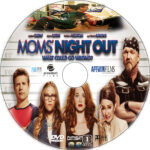 Moms' Night Out (2014) R1 Custom DVD Label