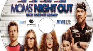 Moms' Night Out dvd label