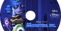 Monsters, INC (Blu-ray) Disney 3D Label